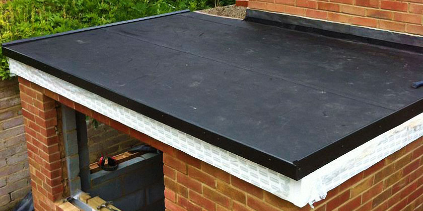 EPDM Rubber Flat Roofing