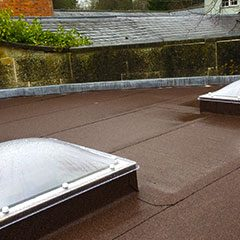 3 layer bitumen flat roof