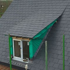 New build slate roof, Devizes, Wiltshire