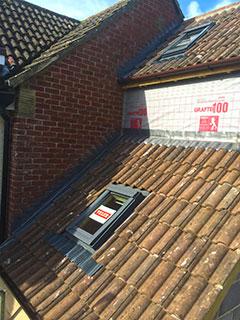 Tiling, leadwork & window installation